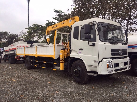 Xe tải Dongfeng B170 gắn cẩu 5 tấn Soosan - 1